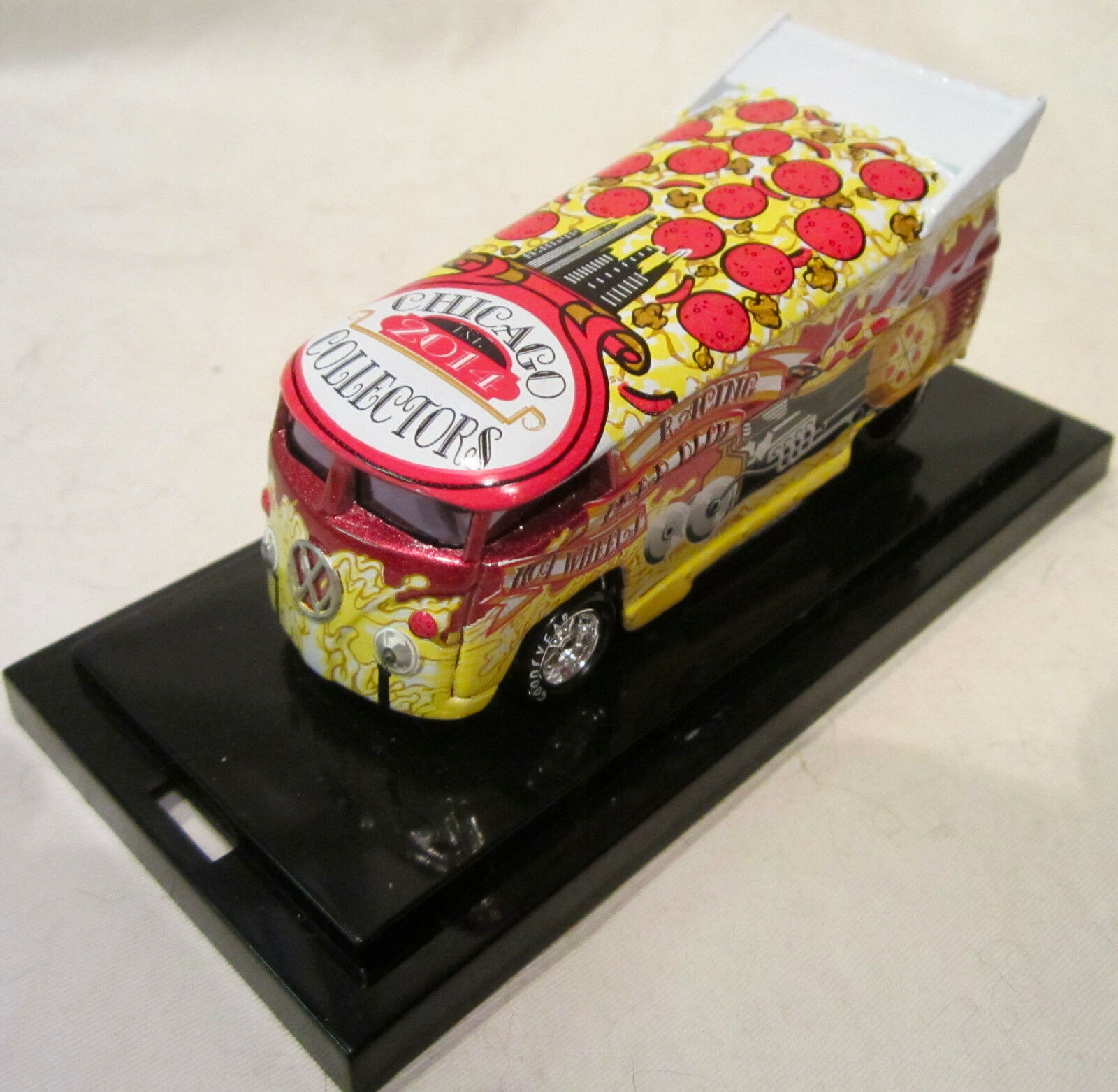 Hot Wheels Liberté Promotions Profond VW Faites Glisser Bus 14th Nationals