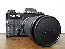 Rolleiflex SL 35 ME M E SLR 35mm Film Camera w/ HFT Tele-Tessar 4/135 Lens Cap