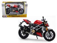 Ducati Mod. Streetfighter S Bike 1/12 Motorcycle Diecast Model By Maisto 31197