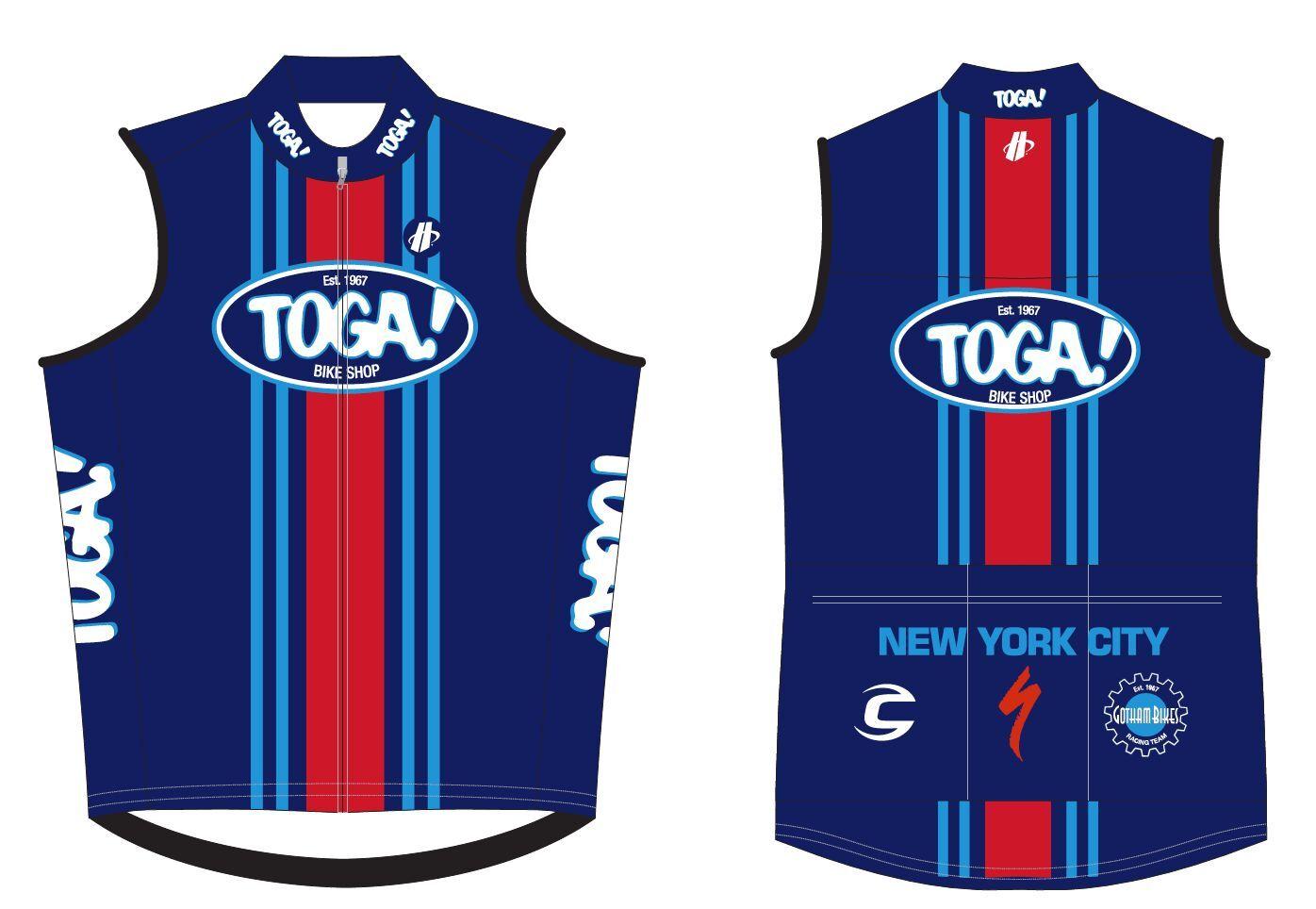New TOGA Bike Shop Heritage Vest by Hincapie All Sizes