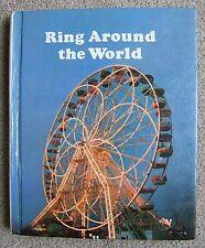 RING AROUND THE WORLD - HARCOURT BRACE JOVANOVICH - HARDCOVER TEXT - THIRD GRADE