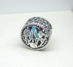 76b1b0768 Image is loading 328-New-Authentic-Pandora-Silver-Ocean-Life-Charm-