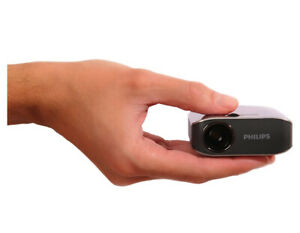 Travailleur Philips Picopix Del Ppx2055 Poche Sized Business Projecteur Avec Usb, 55 Lm-afficher Le Titre D'origine