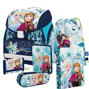 frozen anna und elsa schulranzen tornister ranzen set 6 teilig mit heftbox ebay. Black Bedroom Furniture Sets. Home Design Ideas