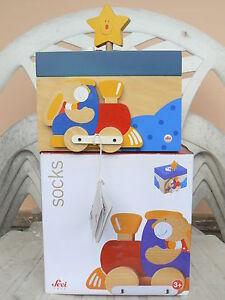 NUOVO-Sevi-by-Trudi-81711-la-scatola-dei-segreti-Socks-in-legno