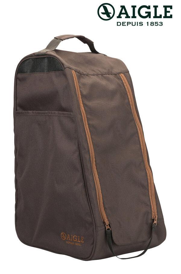 AIGLE Stiefeltasche Gummistiefeltasche Rubberbag brown NEU