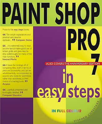Paint Shop Pro 7 in Easy Steps, , Excellent Book