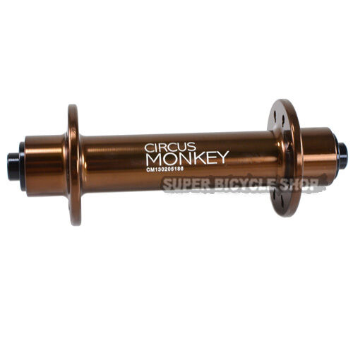 Circus Monkey HRW Road Front Hub,24 Hole, Brown