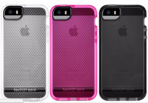 hot sale online 143ef d81f4 Details about Tech21 Evo Mesh Sport Drop Protection Bumper Case for iPhone  5 5S & SE NEW