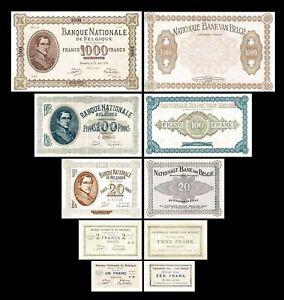 2x  1 - 1.000 Francs - Edition 1914 - Reproduction - B 19