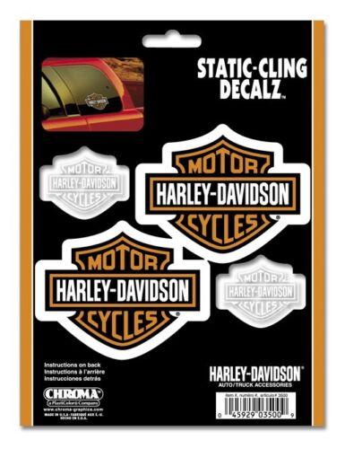 """CG HARLEY-DAVIDSON DECAL /""""Static/"""" Adesivo Statico colla su 1 fogli 3500 *"""
