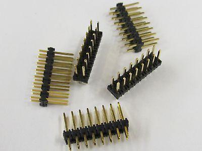 10 Stücke 40Pin 2,54mm Einreihige Runde Buchse Stiftleiste Vergoldet