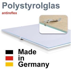 Sous-Verre-sans-cadre-cadre-a-clip-Verre-en-polystyrene-antireflet
