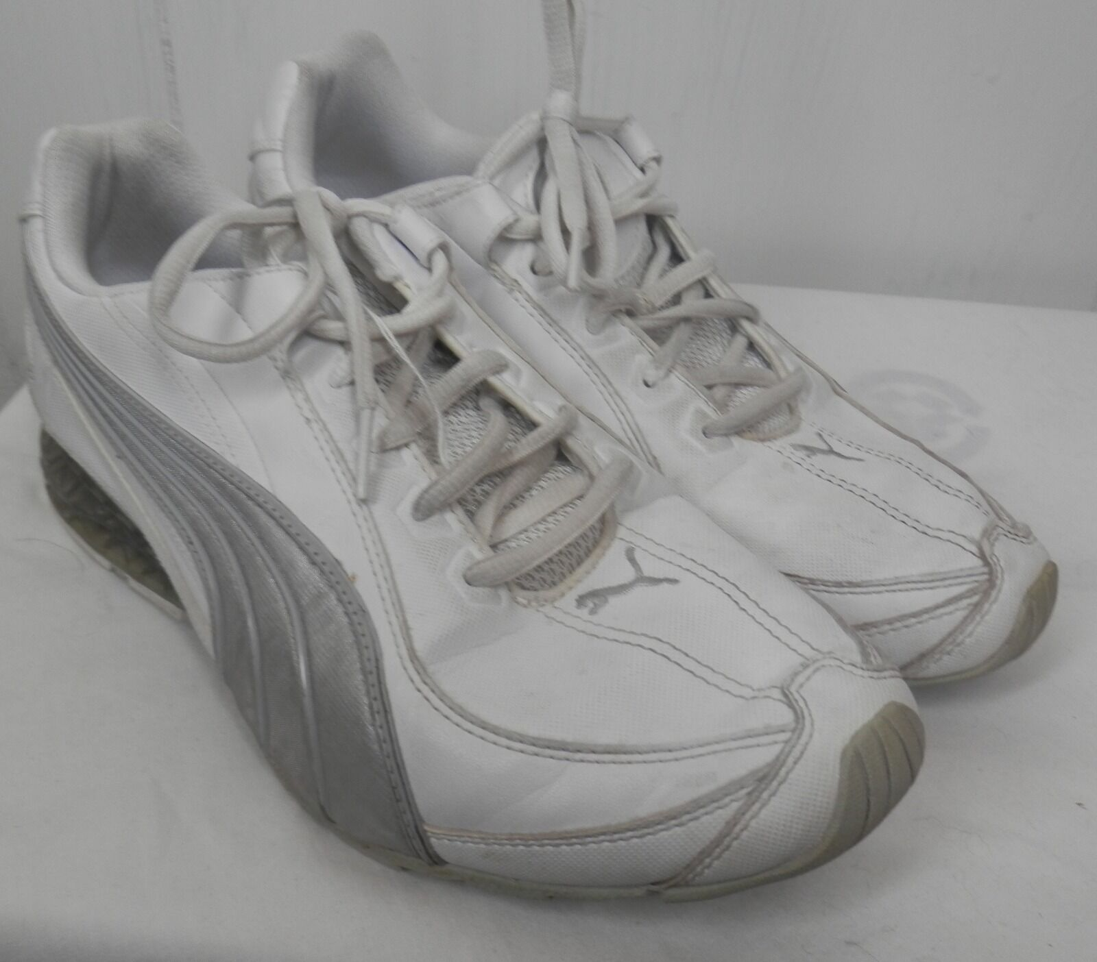 Puma MENS SHOES CELL CERAE white gray Shoes sneakers size 8 Comfortable and good-looking