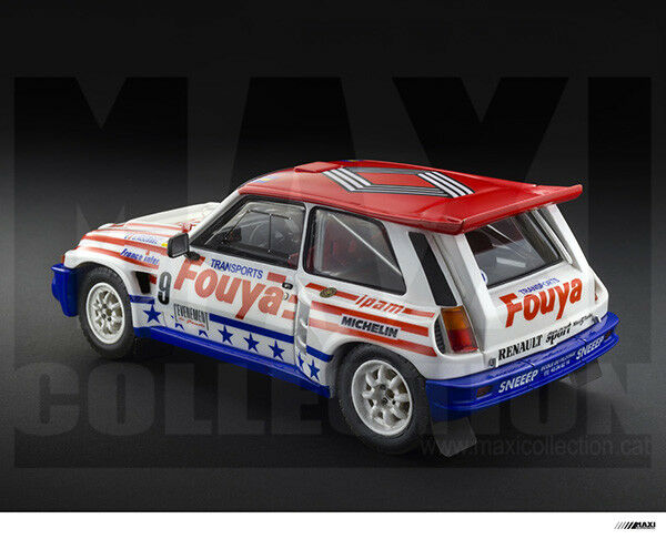 MaxiCollection Resin kit Renault 5 5 5 Maxi Turbo LE-  1 24 scale - FOUYA (Kit nº2) 216
