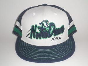 Notre Dame Fighting Irish SUPRA STRIPE Snapback Hat ( 30) NEW ND Cap ... 036065c008a