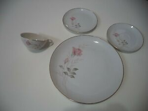 Camelot China American Rose 1655 Japan Saucer Saucers VERY NICE CONDITION
