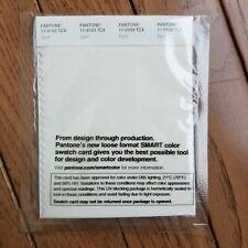 New In Original Packaging Pantone 11 0103 Tcx Smart Color Swatch Card Egret