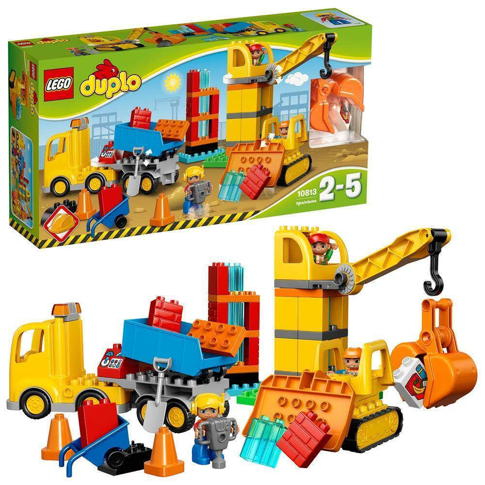 LEGO DUPLO - Große Baustelle Baustelle Baustelle 10813 NEU & OVP   BOXED 3e191e