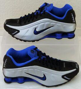 Detalles acerca de Nuevos Zapatos Nike Shox R4 Racer Azul Plata Mens  nosotros tamaño 7.5 Reino Unido 6.5 EUR 40.5- mostrar título original
