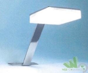 Applique da bagno led 320 lm faretto lampada specchio cornice