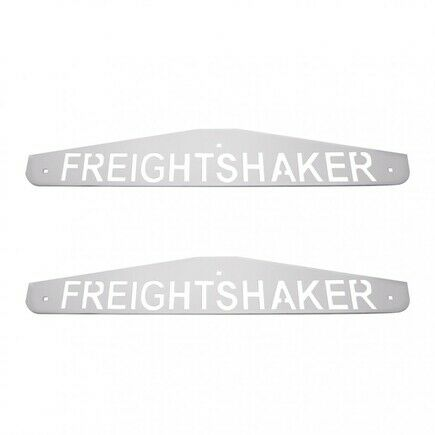 "UNITED PACIFIC 4/"" x 24/"" Freightshaker Bottom Mud Flap Plate Bolt Thru 10440P"