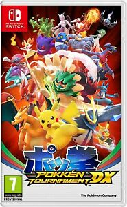 VIDEOGIOCO-POKEMON-POKKEN-TOURNAMENT-DX-Jap-Ver-for-Nintendo-Switch-NS