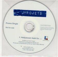 (EG399) Jyrojets, Hollywood Hold On - 2007 DJ CD