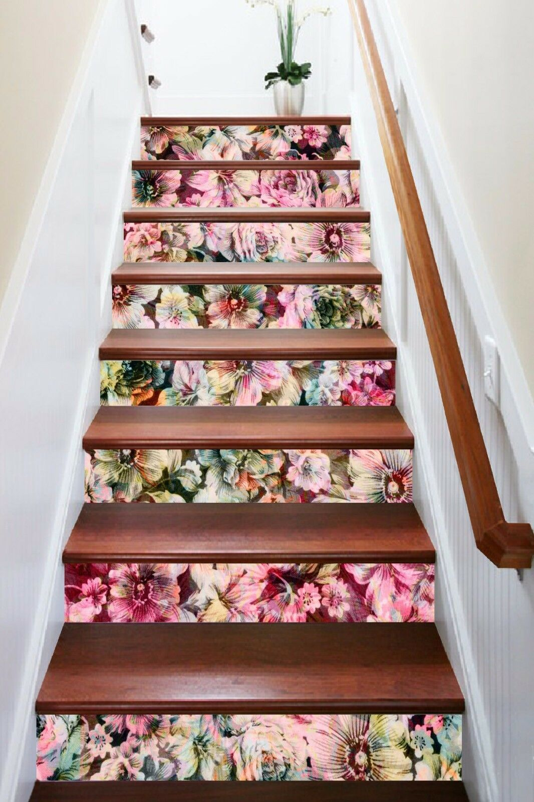 3D Flower 574 Stair Risers Decoration Photo Mural Vinyl Decal Wallpaper AU