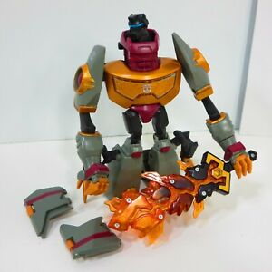 Transformers-Animated-Grimlock-Voyager-Class-Action-Figure-Autobot-2007-Hasbro