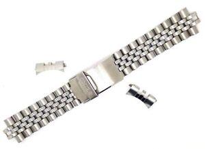 Seiko Montreband Inoxydable Acier Bracelet Jubilée Plongeurs 20mm qRL3A54j