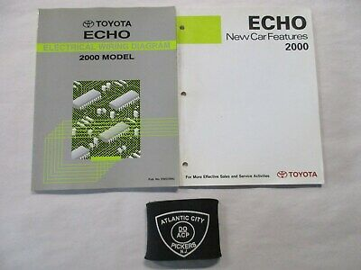 2000 TOYOTA ECHO ELECTRICAL WIRING DIAGRAM SERVICE MANUAL ...