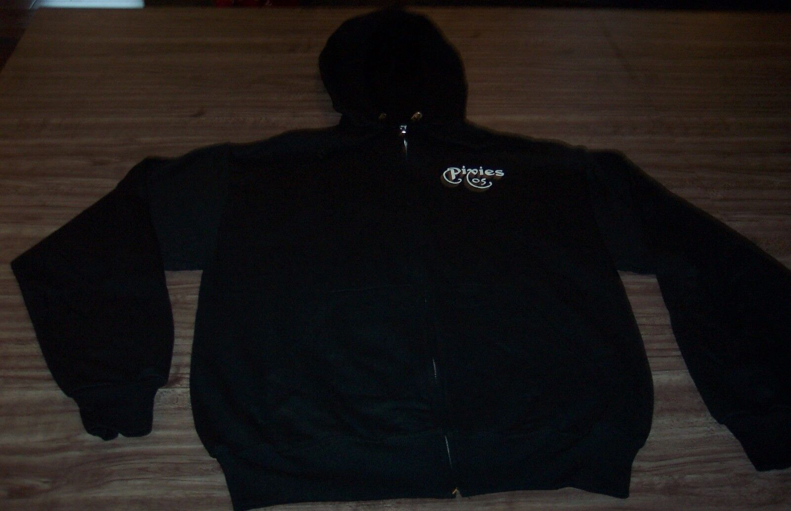 PIXIES 2005 NORTH AMERICAN TOUR HOODIE HOODED Sweatshirt MEDIUM NEW