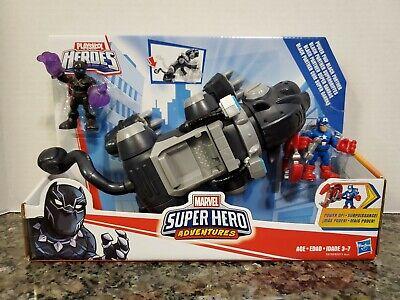 Super Hero Adventures Sha Power Paw Black Panther Hasbro E0290
