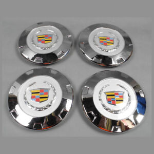4X-NEW-07-15-Color-Crest-Escalade-22-039-039-wheel-center-Hub-Cap-For-Cadillac-9597355
