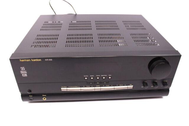 HARMAN Kardon AVR 3550 5.1 Heimkinoreceiver AV Receiver DTS Dolby Digital Tuner