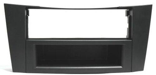 Blende Rahmen Autoradio für Mercedes E-Klasse E240 W211 E200T S211 schwarz Fach