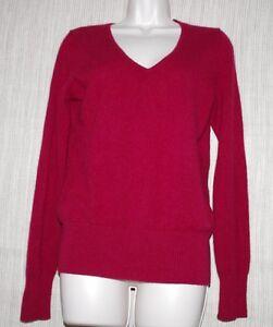 taille pull roulé large en pour bordeaux à cachemire rouge femmes col Uniqlo fH0wvqxv