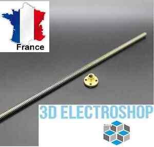 vis-de-precision-avec-ecrou-laiton-pour-axe-Z-THSL-300-8d-30cm-8mm-3d-print-cnc