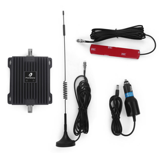 PHONETONE 850MHz 1700/2100MHz GSM 3G LTE 4G Signal Booster Repeater for Car use