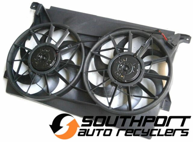 FORD AU FALCON FAIRMONT RADIATOR THERMO TWIN FAN ASSEMBLY *NEW*