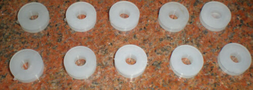 """for 3//8/""""+ hole 3//16 id grommet 5//8/"""" od silicon 1015x10"""