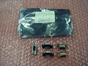 AMP-1035-5747150-7-New-Unused-9-pin-Female-to-9-pin-Male-Connectors-Qty-5