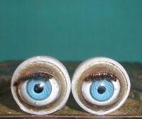 Vintage Plastic Capsule Eyes (blue) 0,43
