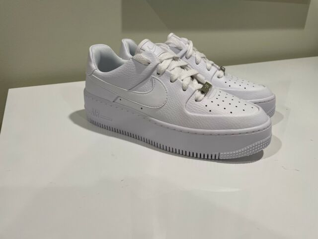 Nike Air Force 1 Sage Low Women Size 6.5 Shoes White AR5339 100