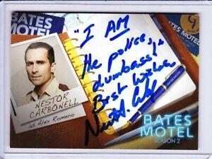 Bates Motel Season 2 Costume /& Prop Trading Card Selection