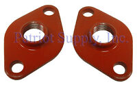 Bell & Gossett 101001 Pair Of 3/4 Npt Cast Iron Flanges (gaskets Not Included)