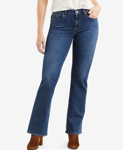 Levi's Women's Classic Bootcut Jeans, Blue Andromeda, Size: 10