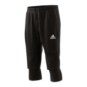 Adidas-Tiro-17-3-4-pantalones-pantalones-cortos-Negro