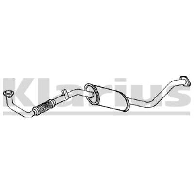 1x KLARIUS OE Quality Replacement Exhaust Pipe Exhaust For NISSAN Diesel